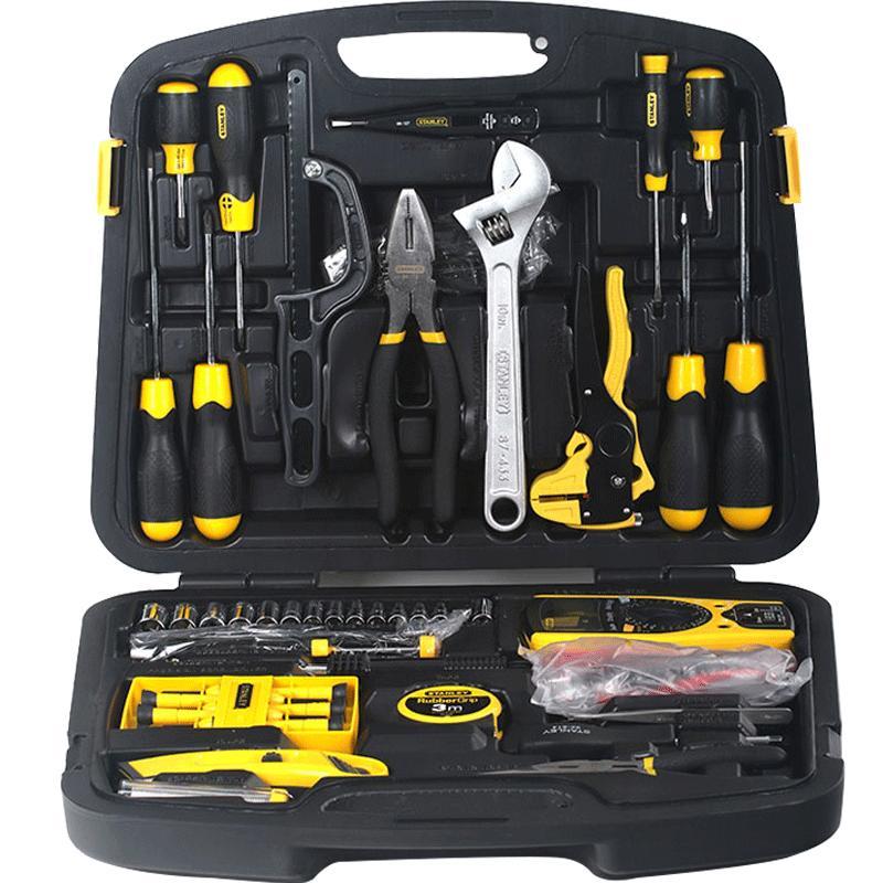 史丹利工具套装家用维修五金工具箱评价好不好
