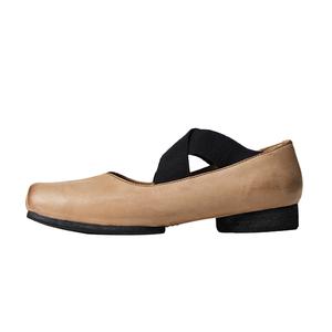 盛先生~猪鼻子复古法式芭蕾女单鞋