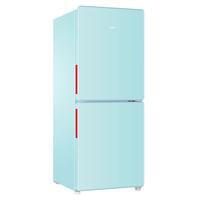 海尔复古家用小型两门统帅电冰箱买后点评