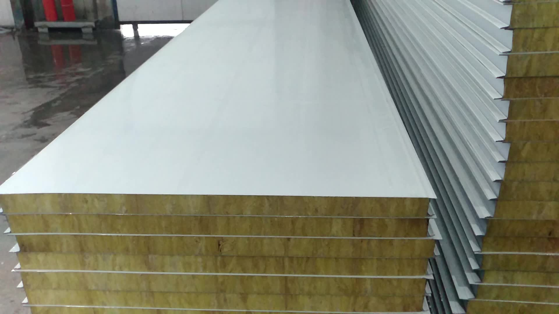 Structure Insulated Aluminum Sandwich Panel Suppliers Line
