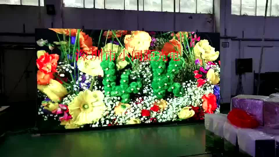 High Quality HD Indoor Rental P3  LED Display led video wall for High-edge conference