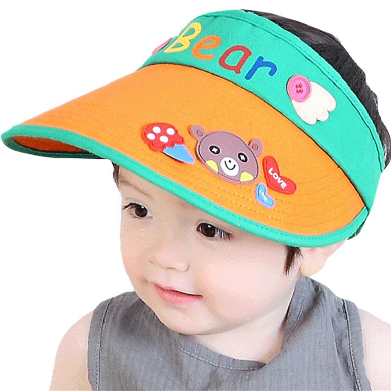 新款夏季男女童2-12岁宝宝儿童帽子
