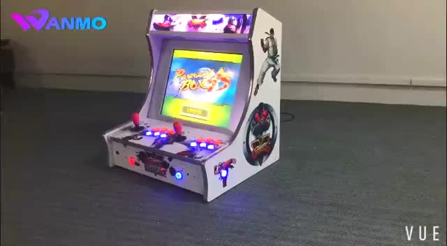 Coin operated Bartop game machine mini desktop arcade cabinet Raspberry Pi 3 games for sales & Coin Operated Bartop Game Machine Mini Desktop Arcade Cabinet ...