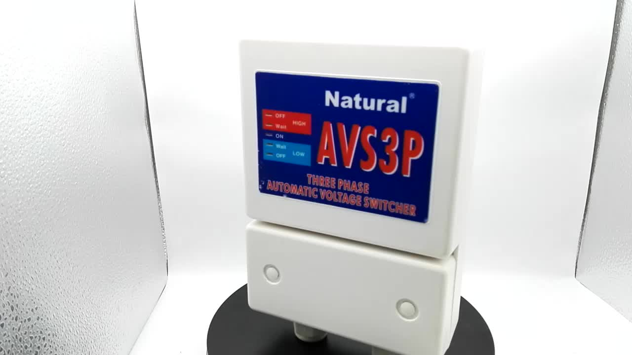 NaturalIndustrial CE Standard AVS3P Three Phase AVS Voltage Protector