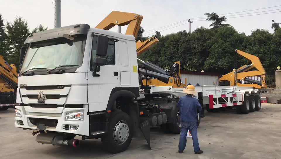 Mqh37a 37 Ton Container Side Lifter Side Loader Lift Truck