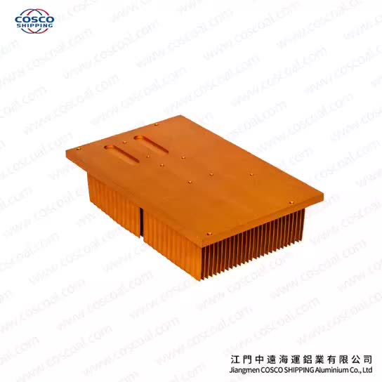 Aluminium skived heatsink better than copper heatsink