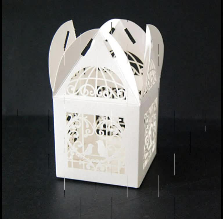 Wholesale bride and groom wedding gift favor box