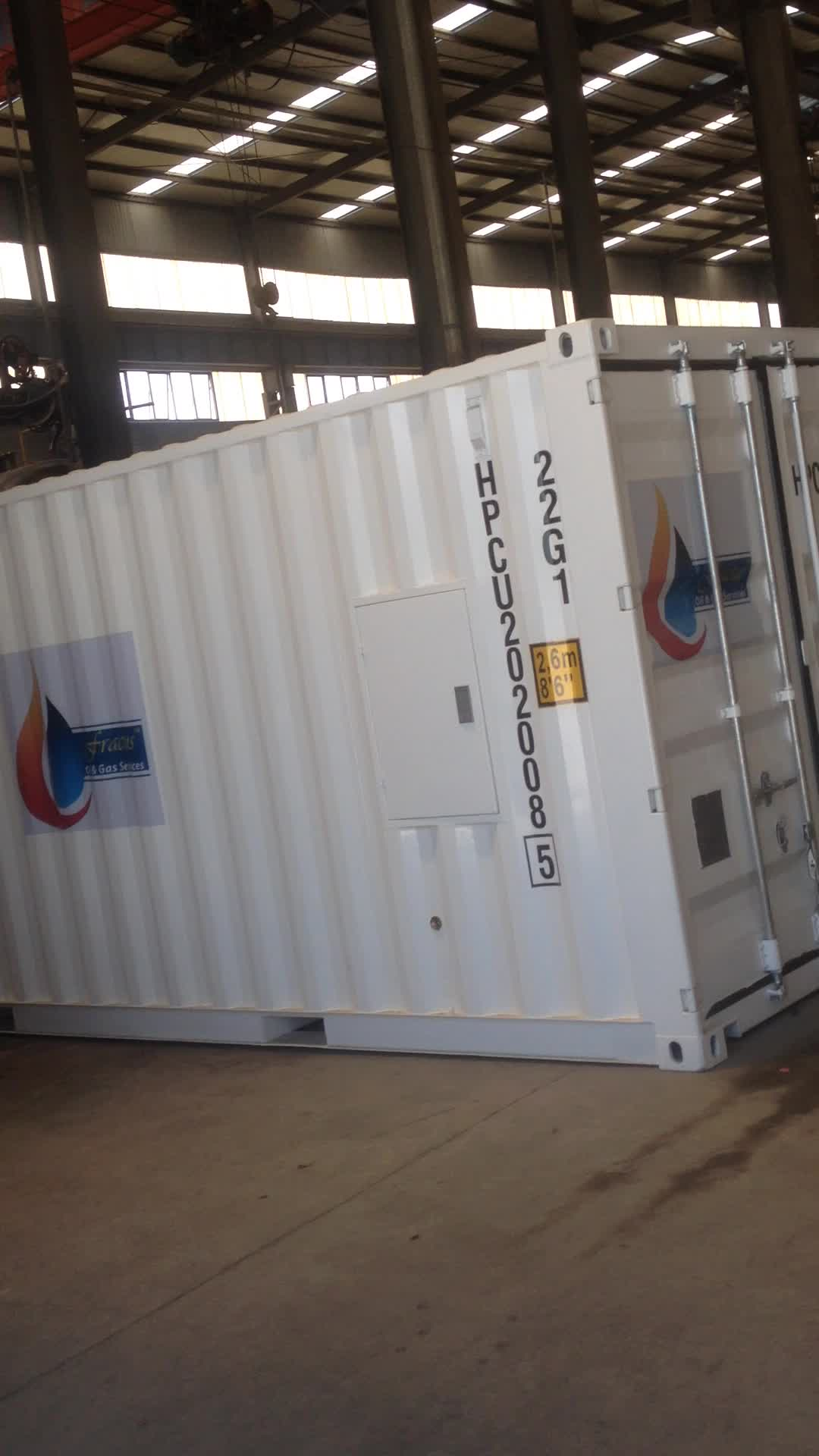high quality 20ft and 40ft iso tank container made of carbon steel or stainless steel