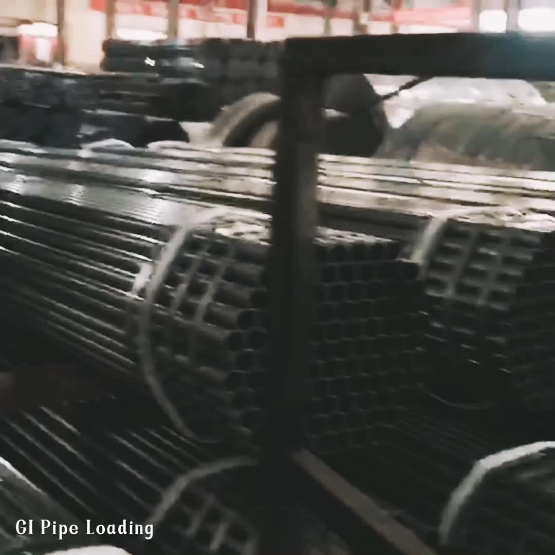 TSX JIS Standard Galvanized Scaffolding Pipe / Tube 48mm