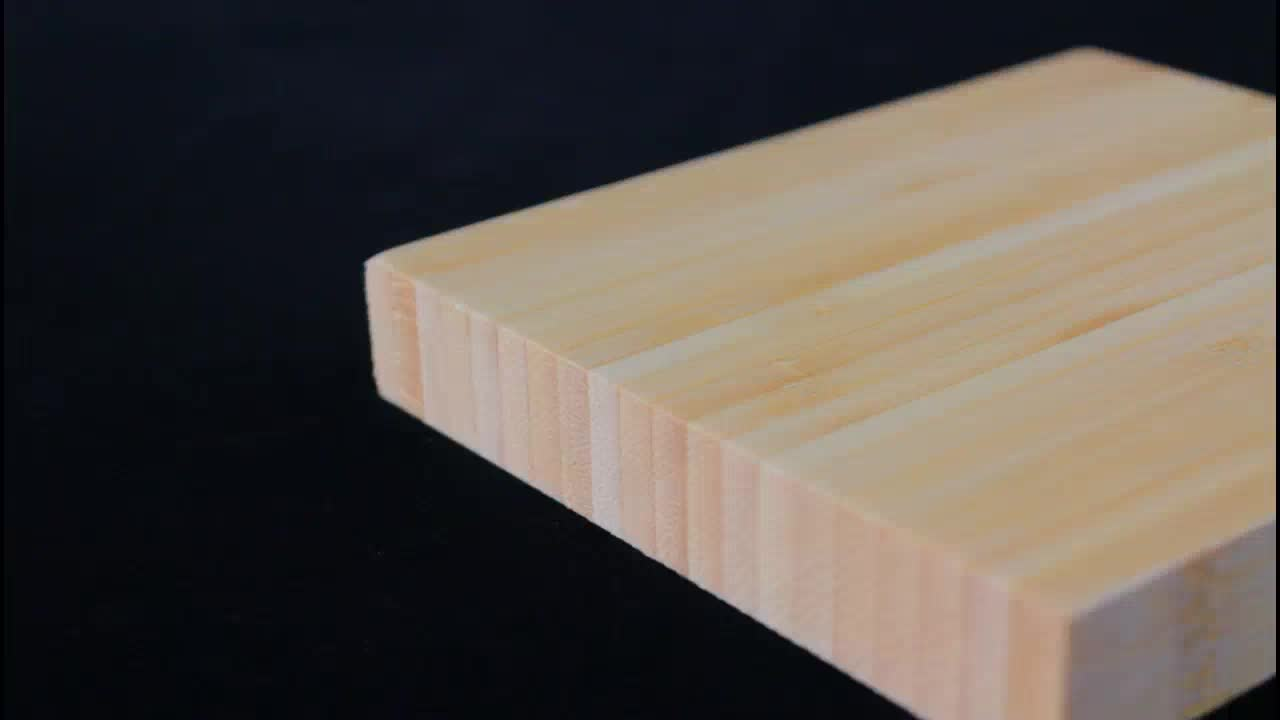 Bamboo wood sheets for indoor use furniture cutting board product