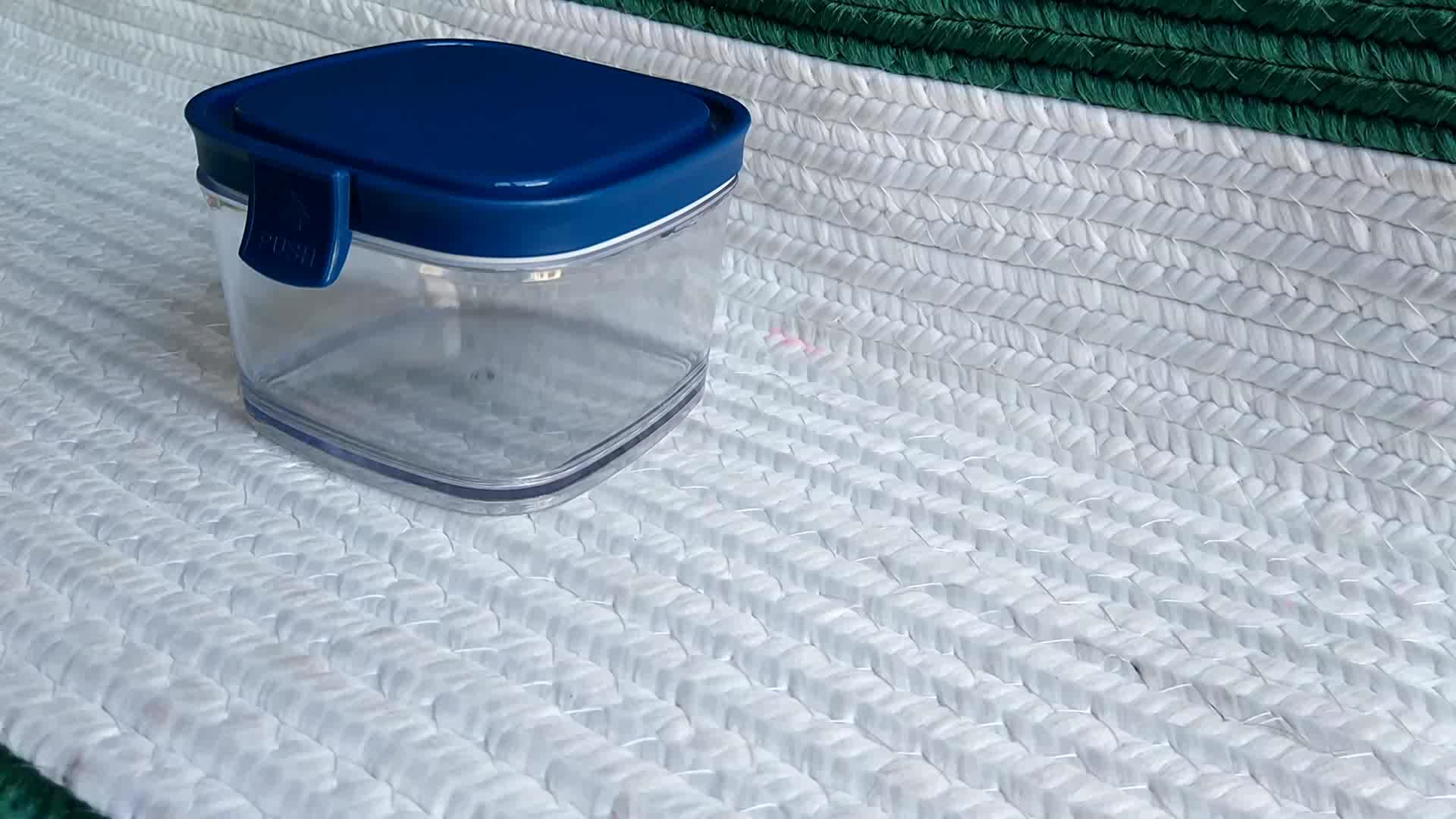 Plastic food container