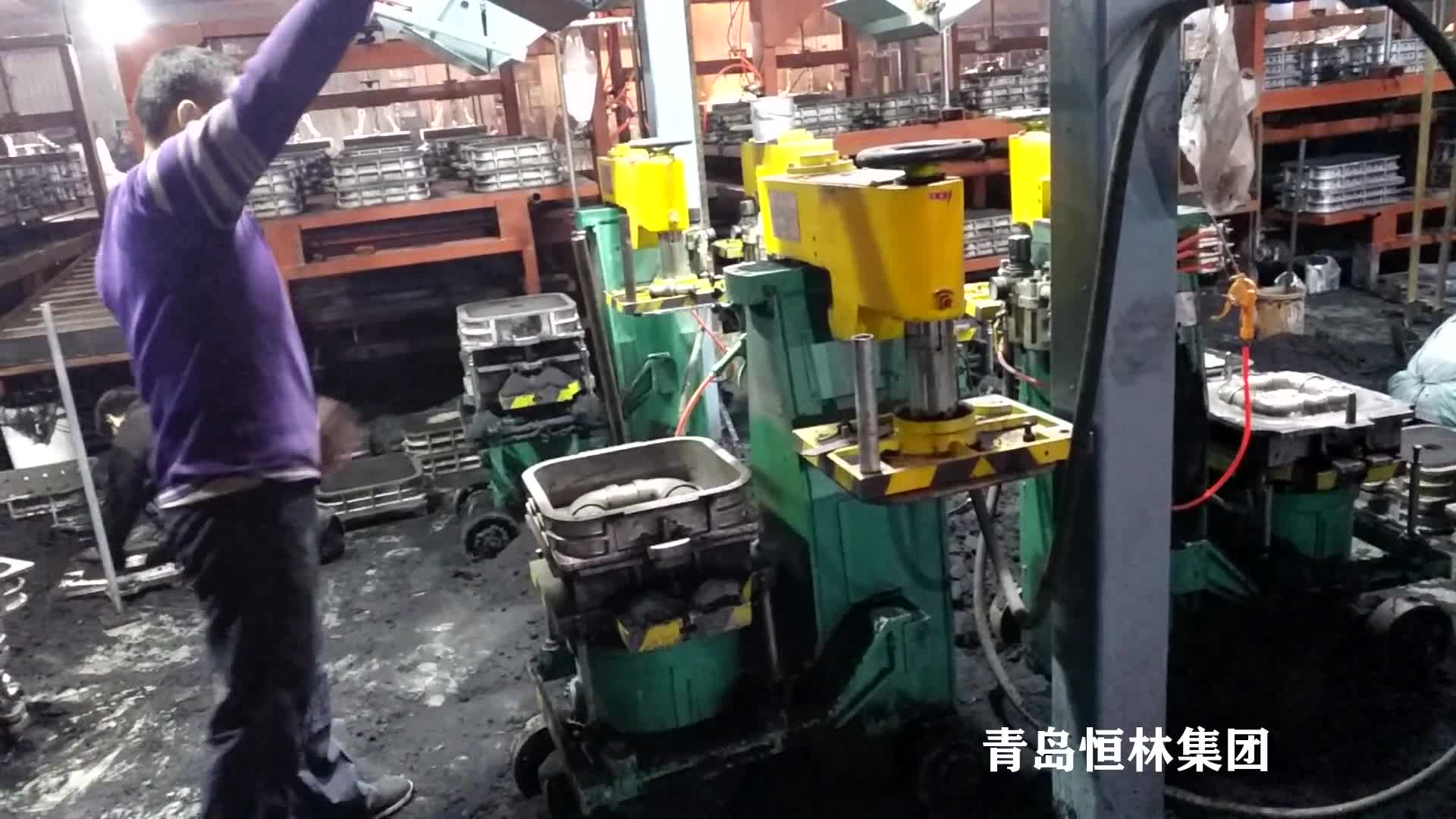 Manufacture for shot blasting machine and foundry equipment