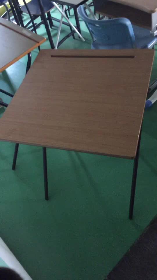 School Student Removable Folding Exam Desk