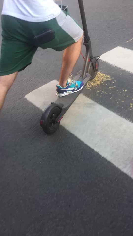 New xiaomi mini pieghevole scooter elettrico con batteria al litio