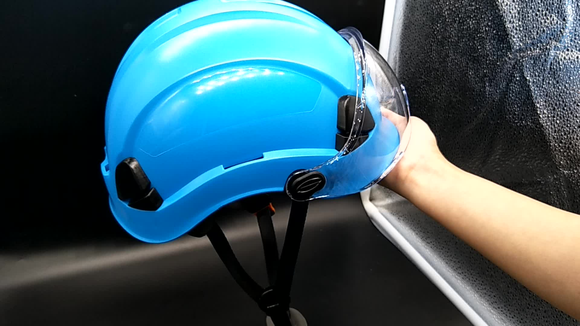 CE and ANSI Custom Construction ABS Safety Helmet