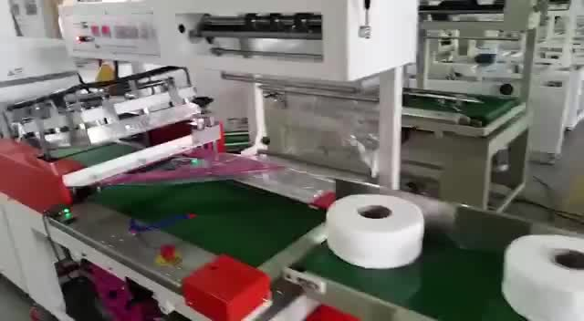 Heat Tunnel Single Roll Toilet Paper Packaging Shrink Wrapping Machine