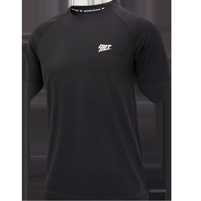 乔丹男装健身短T男2020夏季新款透气速干运动服运动裤组合套装男