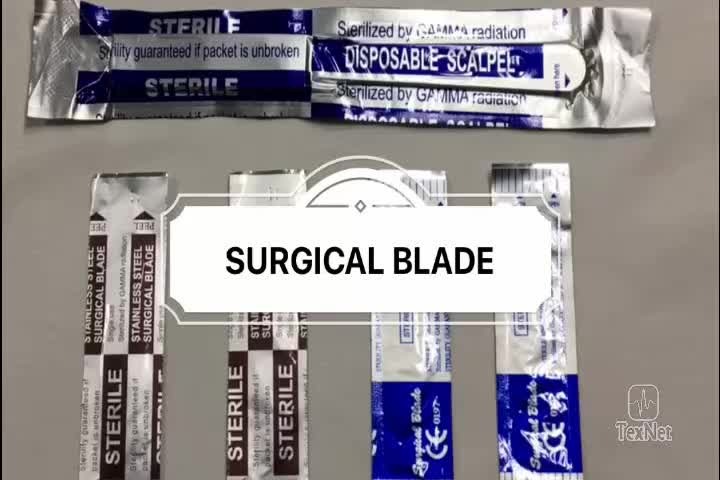 Sharp Point Stainless Steel Disposable Paramount Surgical Blades