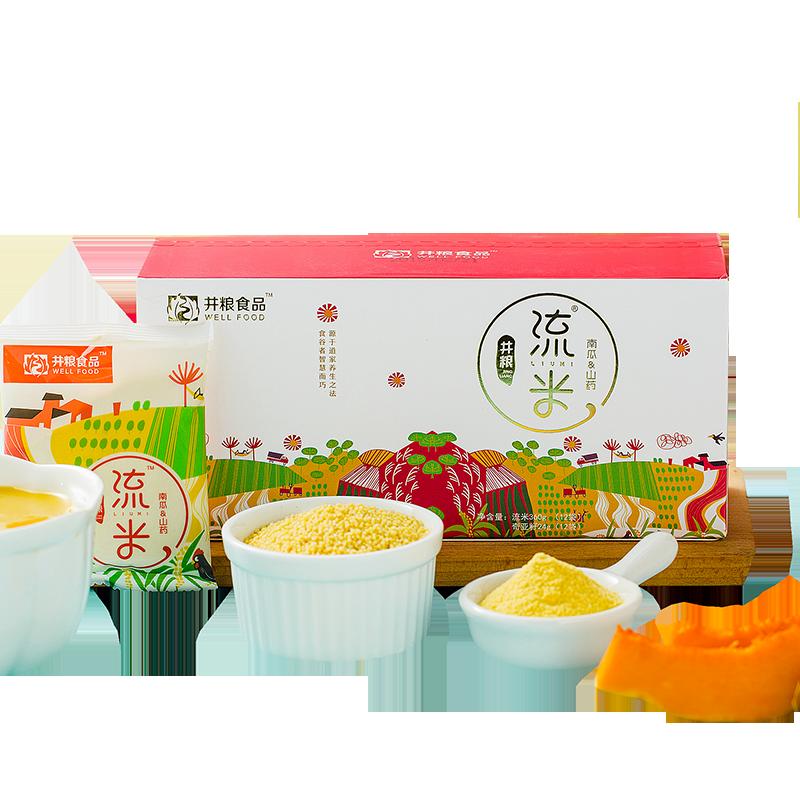 井粮米稀原味水果燕麦麦片早餐即食速冲饮营养粥代餐懒人食品养胃