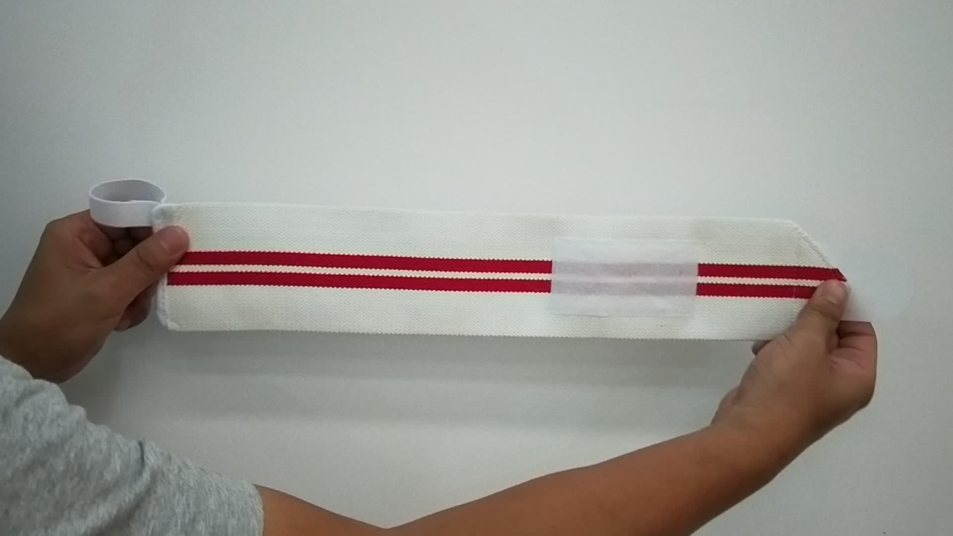 Weight Lifting Adjustable Wrist Wraps training, OEM Wrist Support wraps