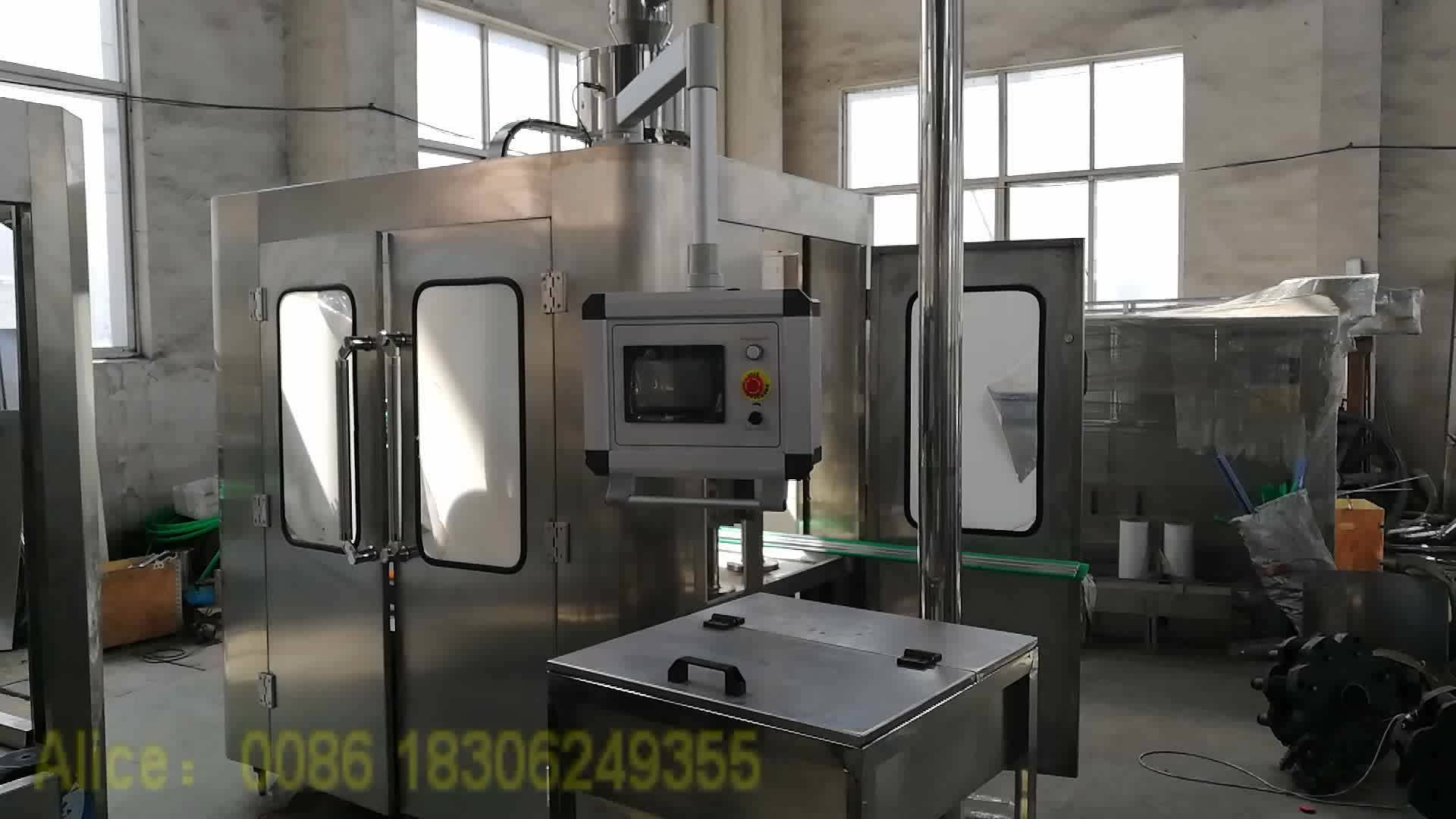 Mini Mineral Water Bottling Plant Purified Water Filling