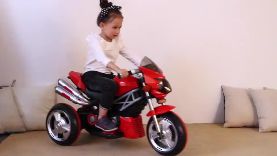 China mini kid three wheel motorcycle new model kids motor bike for 3 years old electric motorcycle for children
