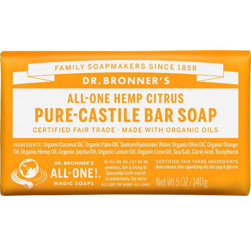 美国drbronners草本精华橄榄油香皂评价好不好
