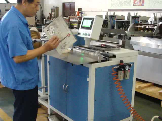 Automatic book binder China supplier Top quality book double wire binding machine