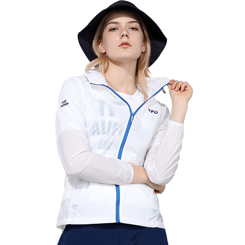 美国第一户外防晒衣女男夏短款皮肤防晒服海边防紫外线薄外套透气