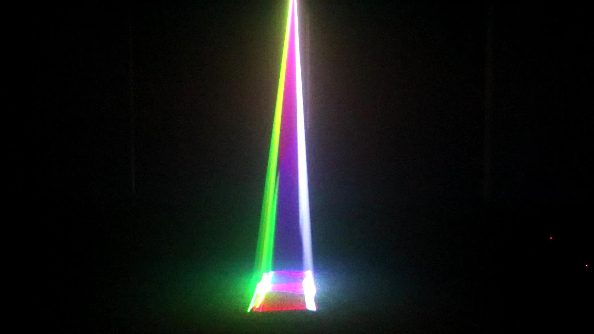 400MW Full Color 3D RGB Disco Laser Projector