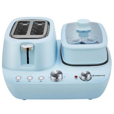 志高早餐机多功能四合一家用懒人小型吐司机多功能多士炉烤面包机