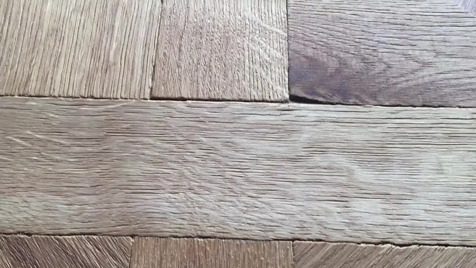 Traditional Design Uv Lacquer Versailles Oak Parquet Engineered Wood