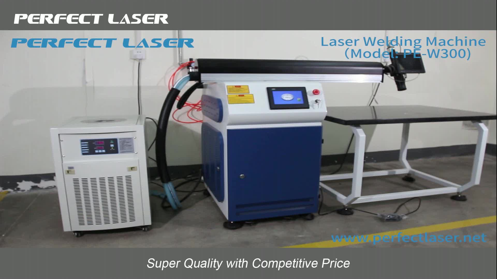 High Power Laser Welder Machine Stainless Steel PE-W500 Welding Tool For Metal