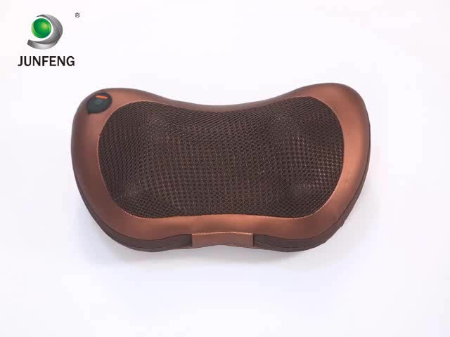 The most novel Vibration Neck Massager Vibrating Pillow With Heating Kneading Massage Balls