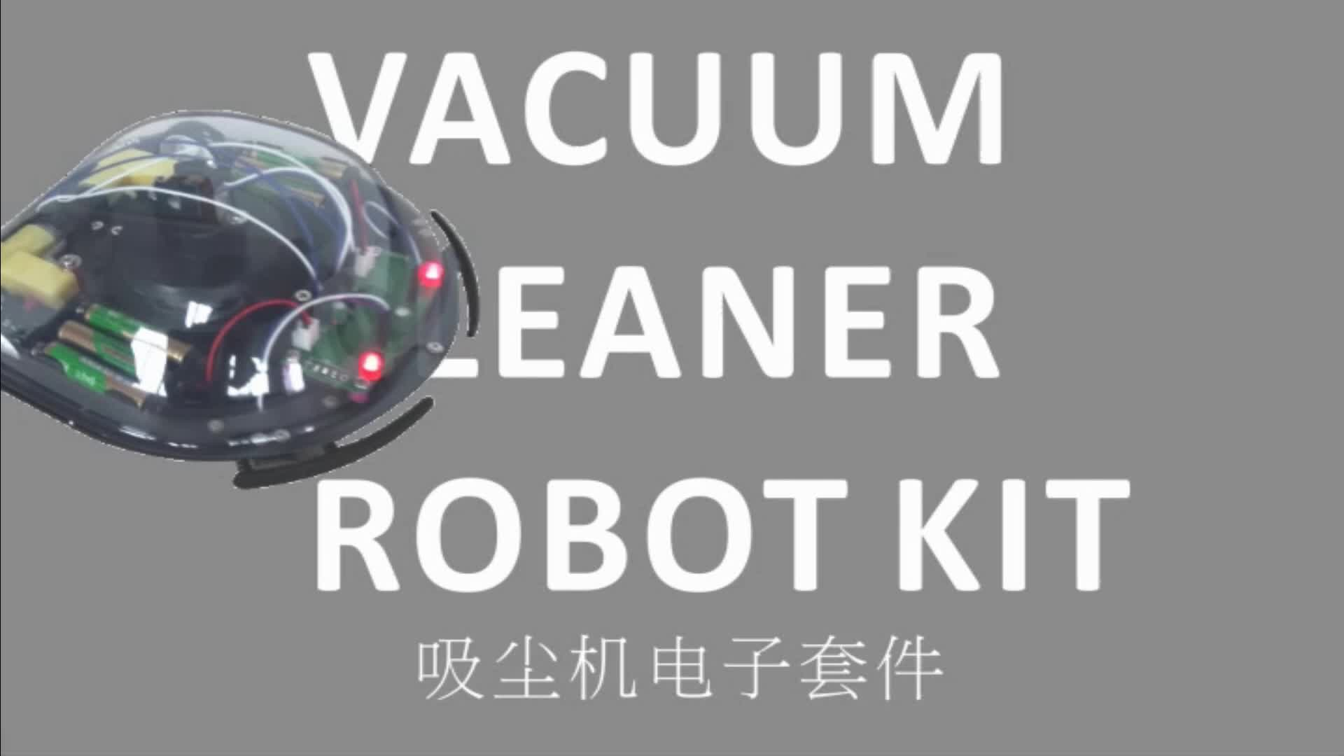 Self Assembly Electronics Education Diy Robot Vacuum Kit ...