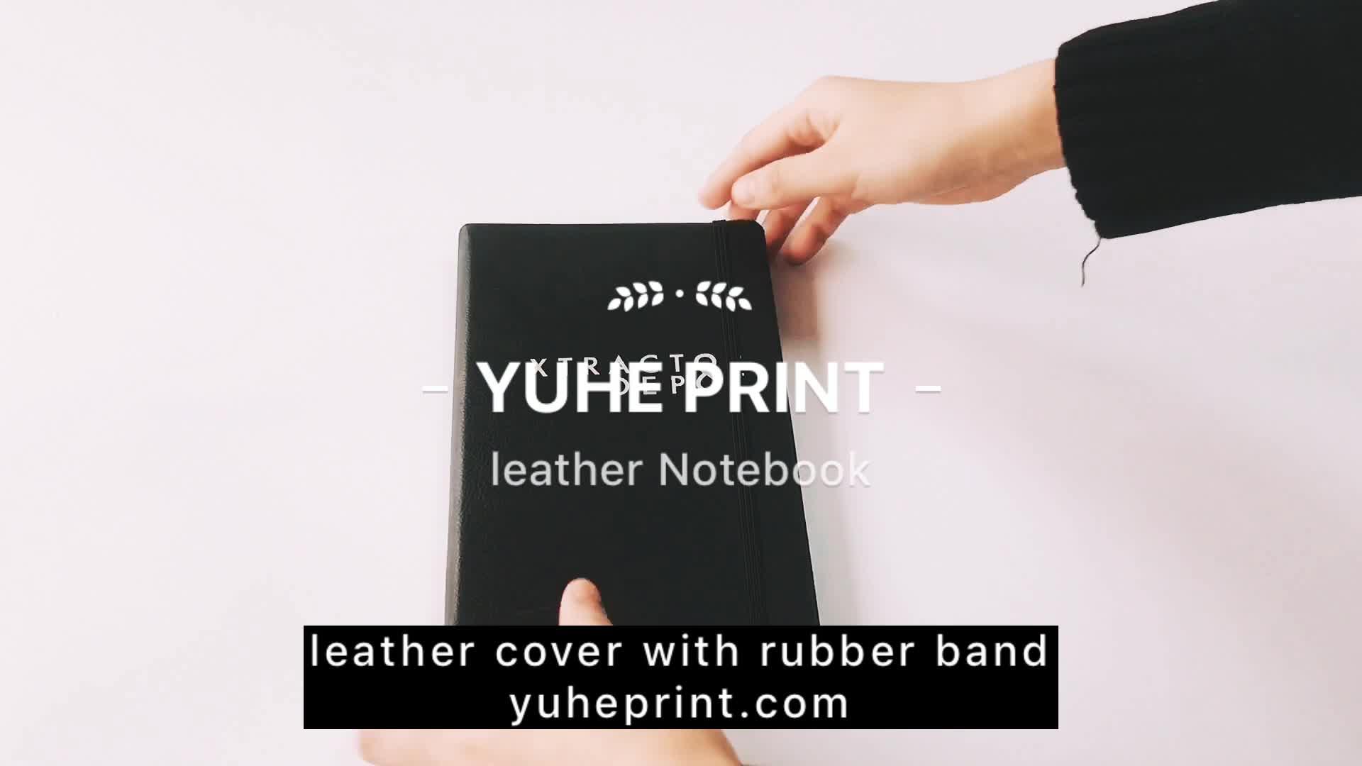 2019 Tagebuch / Agenda Büro billig A5 Hardcover Logo angepasst Firmenname gedruckt Business PU Leder Notebook
