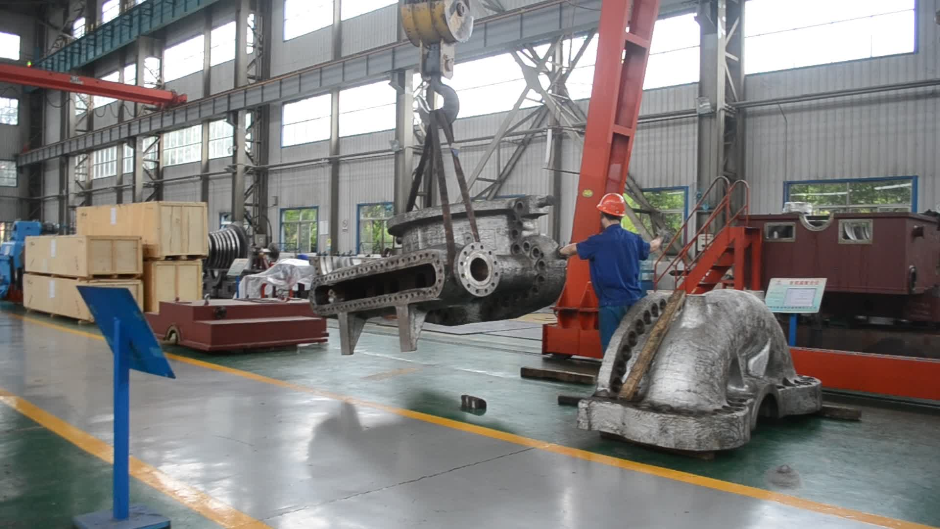 New Style Product Industrial Application 25mw Steam Turbine