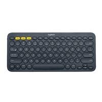 送键盘包 罗技K380无线蓝牙键盘静音超薄便携ipadpro2021苹果MAC平板专用mini5手机air2办公logi小iphone12