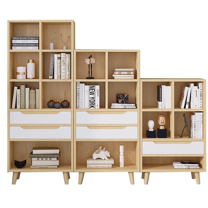 北欧组合落地卧室现代简约收纳书架质量如何