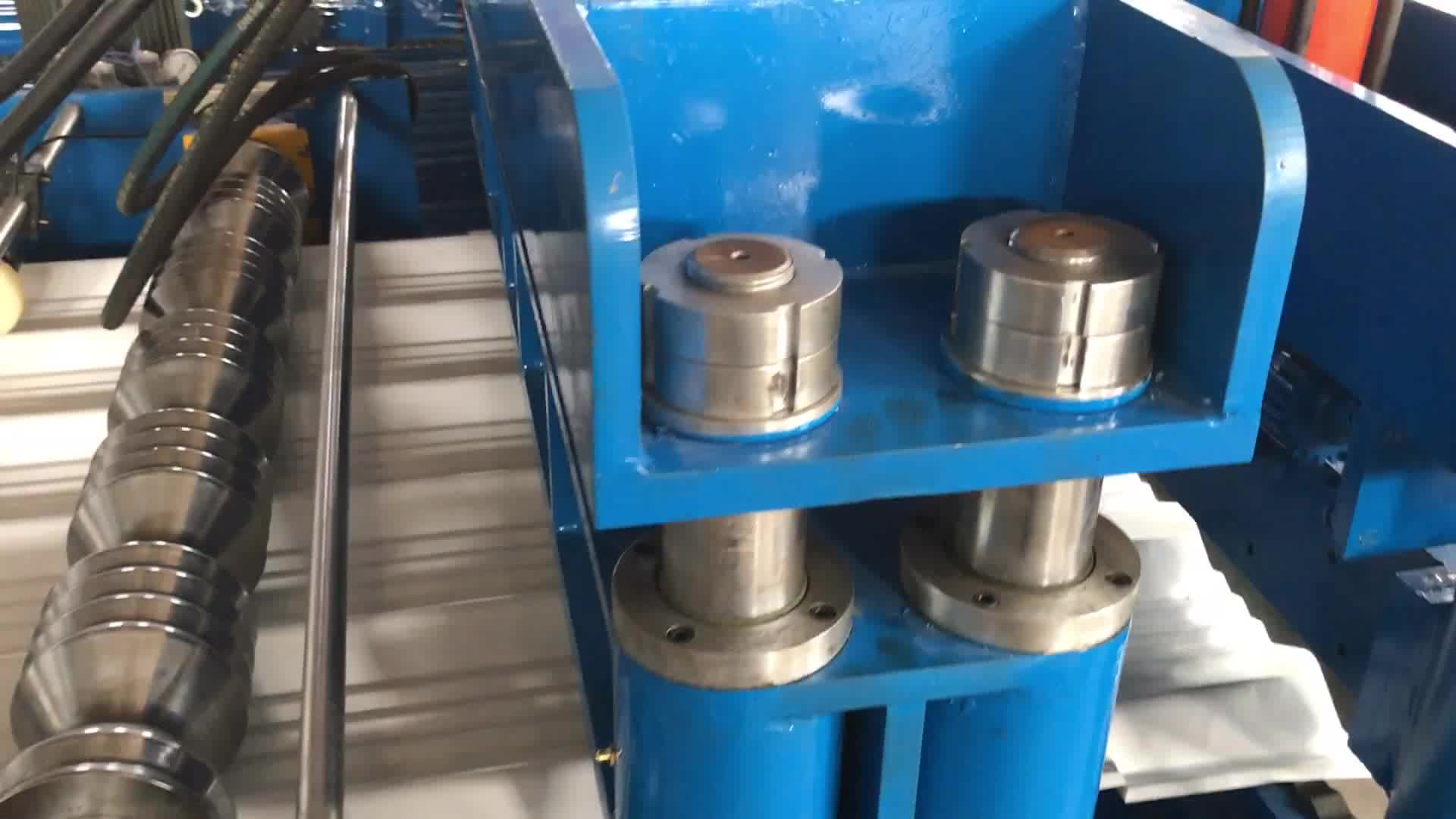 Production Equipment For Zinc Tile Roll Forming Machine