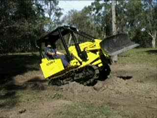 Mini Crawler Bulldozer