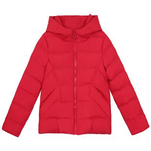 妈妈羽绒棉服短款外套女冬装女装2020年新款中年40穿的小棉袄50岁