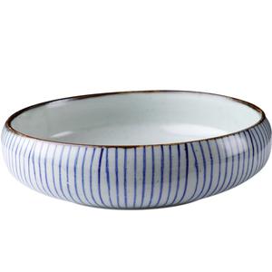 领【2元券】购买圆钵甜品浅口圆碗家用釉下彩汤碗