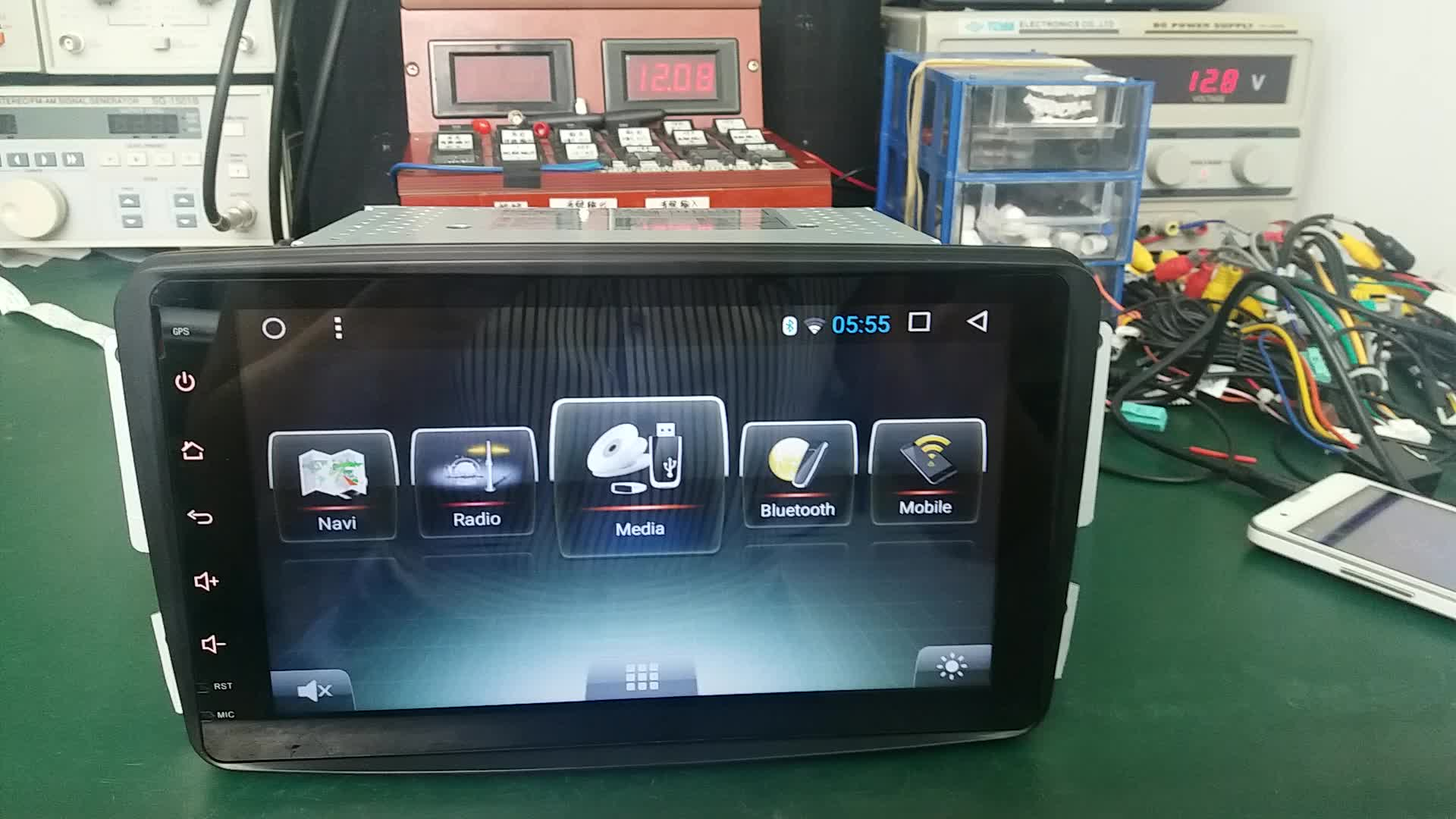 new product 8inch HD IPS LCD Android Car DVD Player 7.1 for Qashqai 2016 for x-trail rogue Parts
