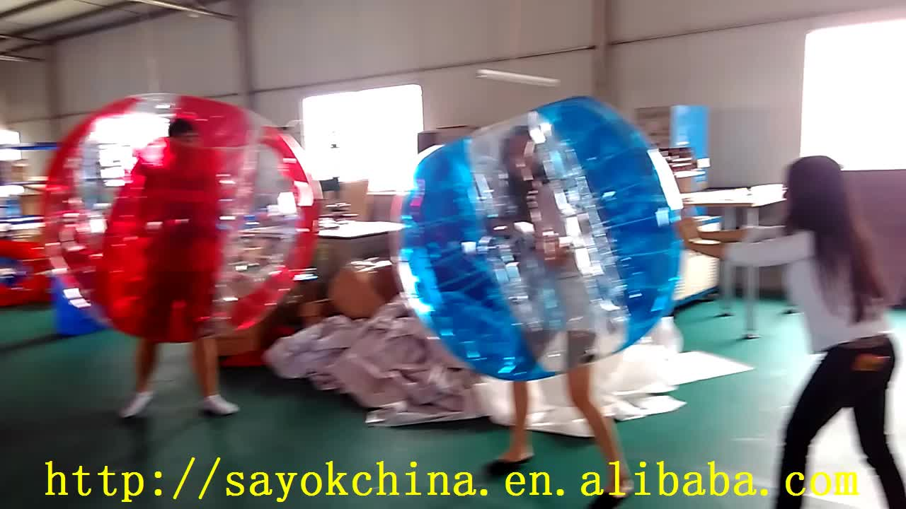 15m giant body inflatable gum bumper football zorb hanging ball chair human bubble soccer ball