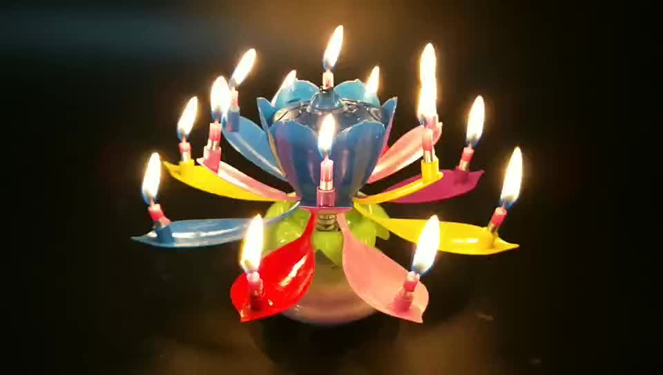 Lotus Flower Birthday Candles Wholesale