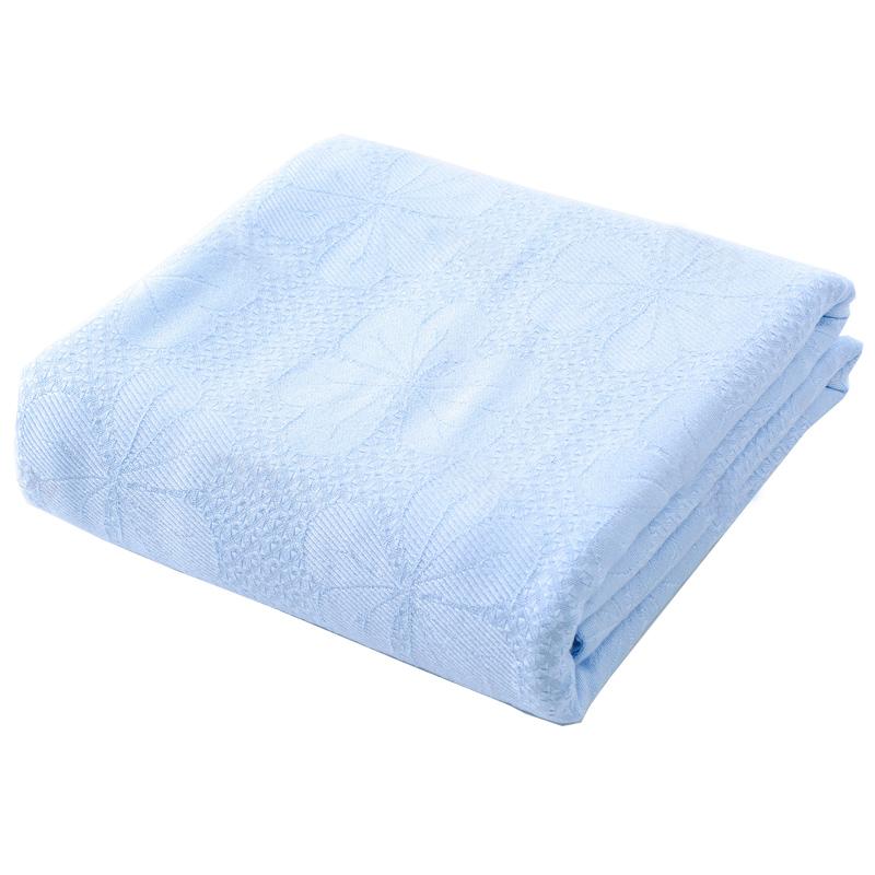 竹纤维夏季单人夏凉被沙发毛巾被好用吗?