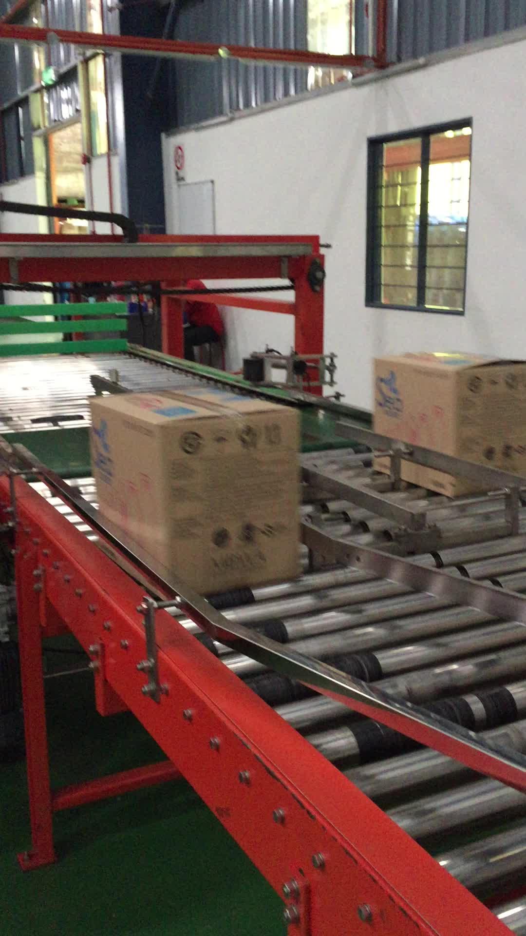 Cina produttore automatico palletizer blocco di cemento macchina fabbrica