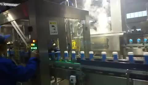 Hot Sale Automatic Fruit Juice Filling Plant