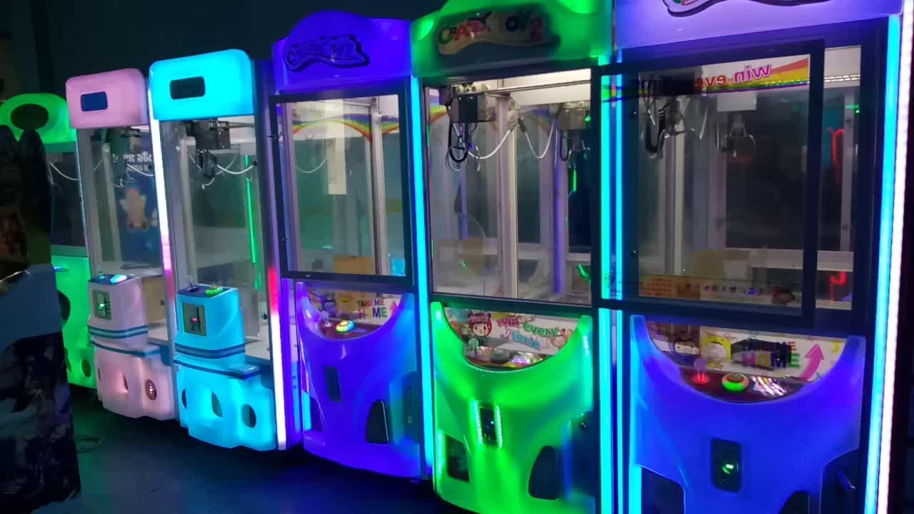 Animal coin operated mini speelgoed klauw crane automaten voor koop